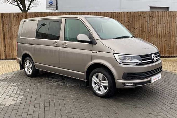Volkswagen Transporter T32 Highline Kombi 2.0TDI 150PS EU6 BMT SWB 7 SP DSG ( Twin Sliding Doors )